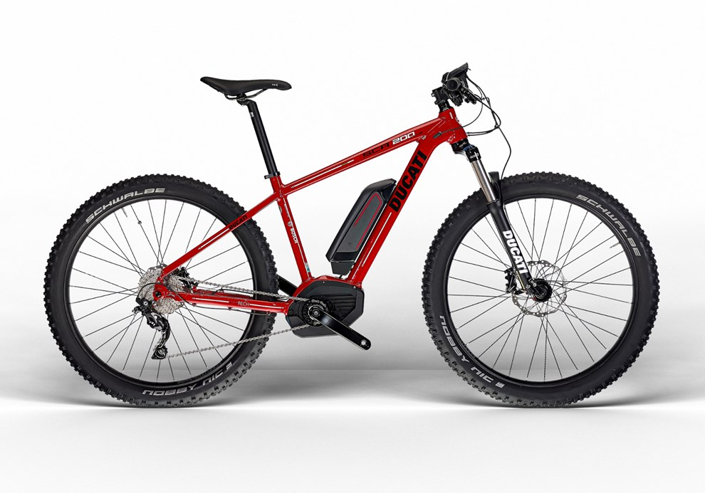 Ducati Bicycles launch TT eMTB
