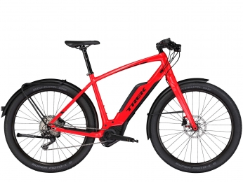 Электровелосипед Trek Super Commuter+ 8 2019 Electric Hybrid Bike
